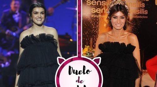 Duelo de estilo: El segundo vestido de Amaia en los Goya 2019 ya lo había lucido Madame de Rosa en 2018