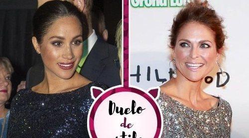 Duelo de Royals: Magdalena de Suecia le copia el look a Meghan Markle pero, ¿a quién le sienta mejor?