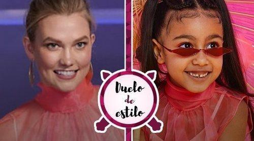 North West le copia el look a Karlie Kloss: ¿Quién lo lleva mejor?