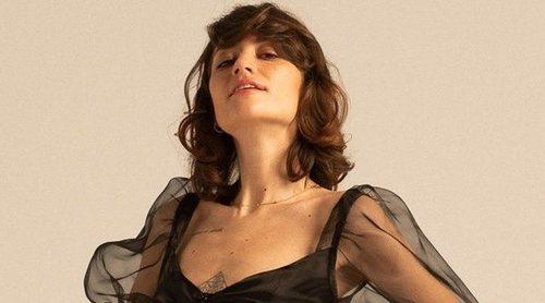 Gala González celebra que uno de sus diseños haya inspirado un vestido de Zara
