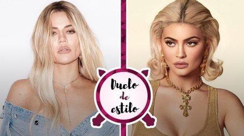 Khloé Kardashian le roba a Kylie Jenner el bañador con el nuevo animal print de moda