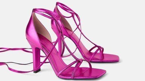 Zara trae los zapatos Blue Collection, inspirada en un mundo de fantasía