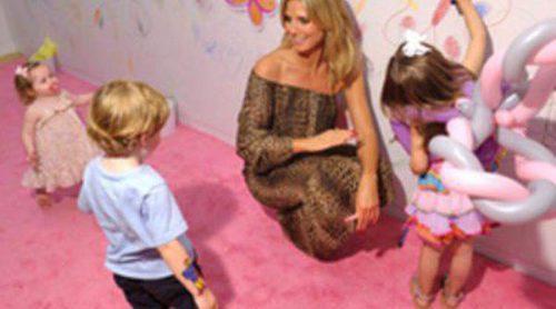 Heidi Klum se lanza como diseñadora de ropa infantil