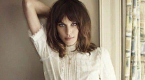 Alexa Chung luce las propuestas más 'british' de Vero Moda para este otoño 2012
