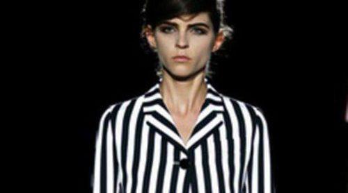 Marc Jacobs apuesta por las rayas en la Semana de la Moda de Nueva York