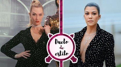 Karlie Kloss y Kourtney Kardashian protagonizan un duelo de estilo con altura