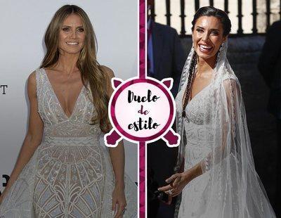 El vestido de novia de Pilar Rubio ya lo llevó Heidi Klum en una ocasión mucho más banal