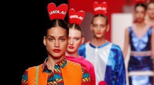Ágatha Ruiz de la Prada rinde tributo a ¡HOLA! en su colección primavera/verano 2020