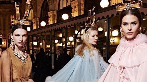 Dolce & Gabanna rinde tributo a la feminidad con su nueva colección de tallas grandes Otoño/Invierno 2019