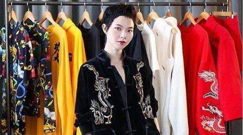 Angel Chen se convierte en la primera diseñadora china en colaborar con H&M