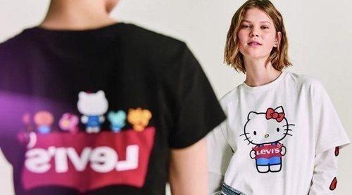 Hello Kitty y Levi's se unen y crean la colección más 'cute' del momento