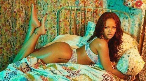 'Midnight Tonight', Rihanna presenta su colección de lencería otoño 2019