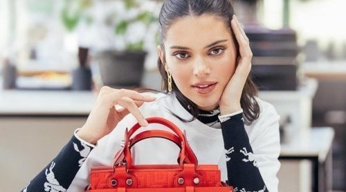 Kendall Jenner protagoniza una campaña de altos vuelos para Longchamp