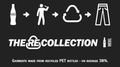 Coca Cola y Diesel colaboran en 'REcollection', una colección cápsula concienciada con el medio ambiente