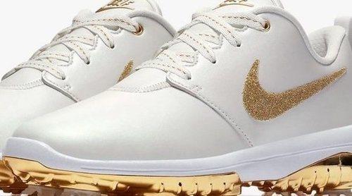 Zapatillas de golf cubiertas de Swarovski: lo último y más fashion de Nike