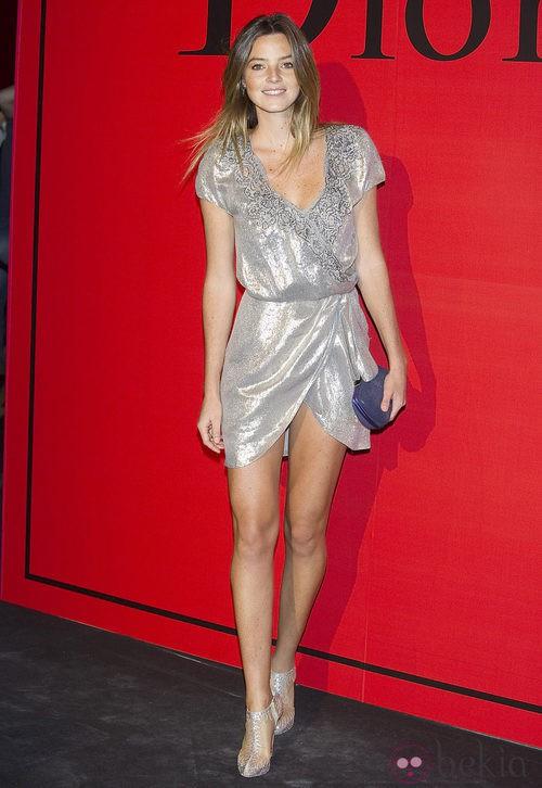 Estilismo de Aída Artiles en la cena de gala de Dior