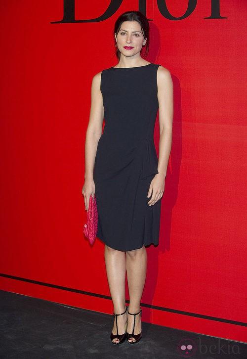 Estilismo de Bárbara Lenin en la cena de gala de Dior
