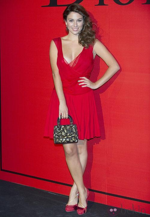 Estilismo de Blanca Suárez en la cena de gala de Dior