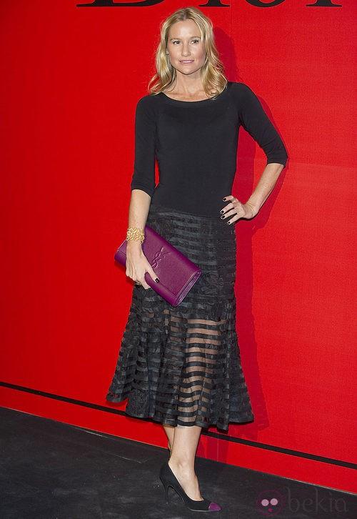 Estilismo de Fiona Ferrer en la cena de gala de Dior
