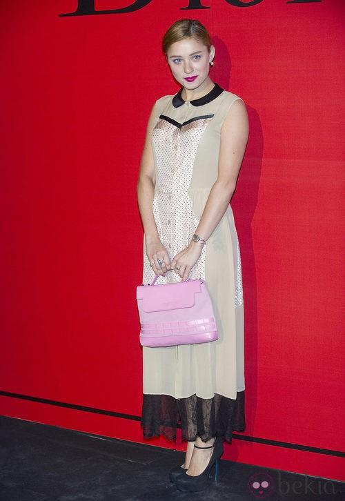 Estilismo de Miranda Makaroff en la cena de gala de Dior
