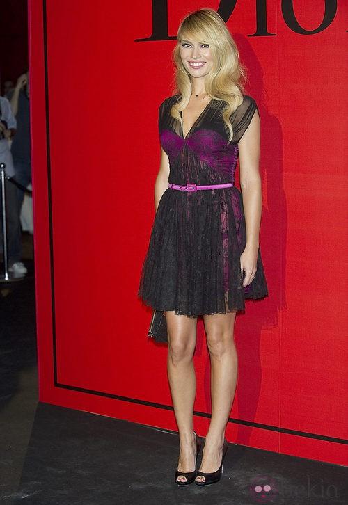 Estilismo de Patricia Conde en la cena de gala de Dior