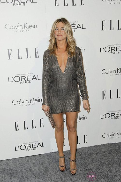 Jennifer Aniston en la fiesta 'Women in Hollywood' de ELLE