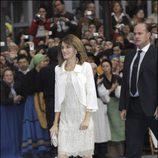 El estilismo de Doña Letizia en la entrega de Premios Príncipe de Asturias 2007