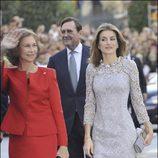El estilismo de Doña Letizia en la entrega de Premios Príncipe de Asturias 2008