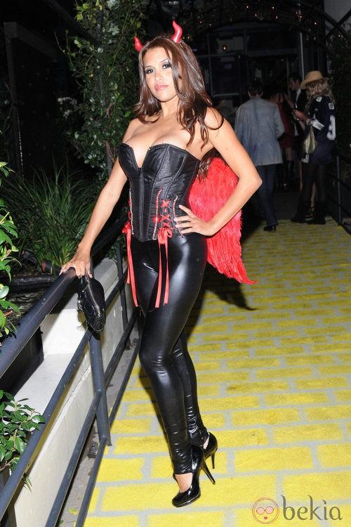 Disfraces sexys para Halloween: Rachel Sterling de diablesa en 2010
