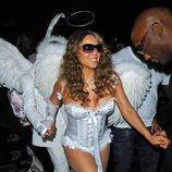 Disfraces sexys para Halloween: Mariah carey de ángel en 2009