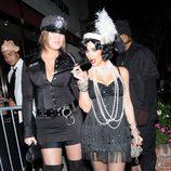 Disfraces sexys para Halloween: Kim Kardashian de cabaretera en 2008