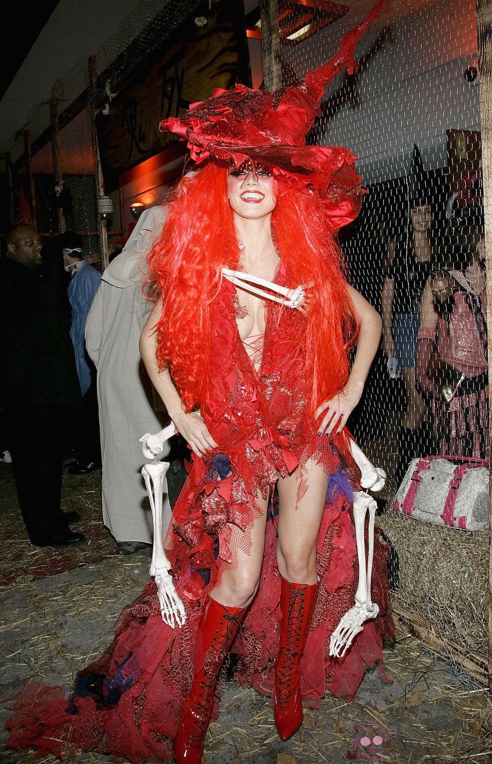 Heidi Klum en Halloween 2004
