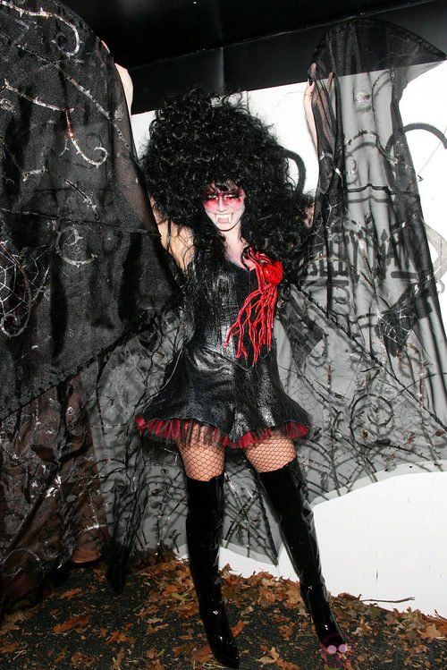 Heidi Klum en Halloween 2005