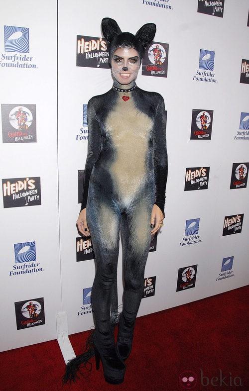 Heidi Klum en Halloween 2007