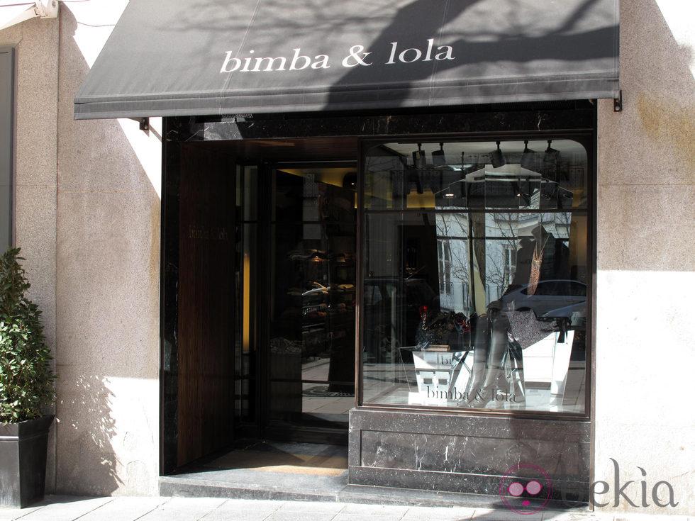 Exterior de una tienda Bimba y Lola