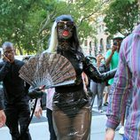 Looks de Lady Gaga: Vestido de pvc