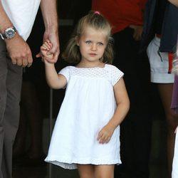 La Infanta Leonor con un vestido muy ibicenco