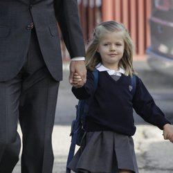 La Infanta Leonor, de uniforme