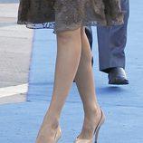 Los zapatos de la Princesa Letizia en los Premios Príncipe de Asturias 2011