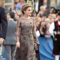 El look de la Princesa Letizia en los Premios Príncipe de Asturias 2011
