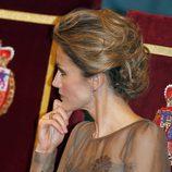 El peinado de la Princesa Letizia en los Premios Príncipe de Asturias 2011