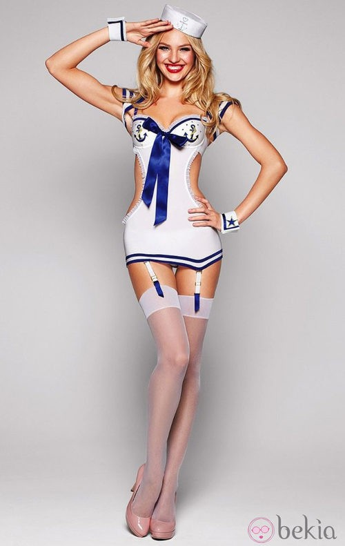 Vestido de marinera de la colección Halloween 2011 de Victoria's Secret
