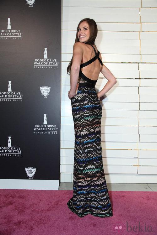 Jennifer Missoni en la fiesta de moda en honor a Iman y Missoni