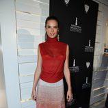 Alessandra Ambrosio en la fiesta de moda en honor a Iman y Missoni