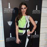 Jessica Lowndes en la fiesta de moda en honor a Iman y Missoni