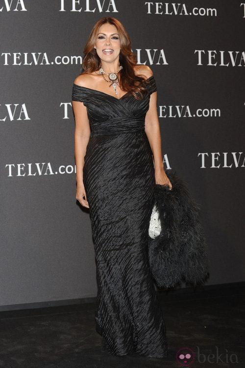 Looks de Jacqueline de la Vega en los Premios T de Moda de Telva 2011