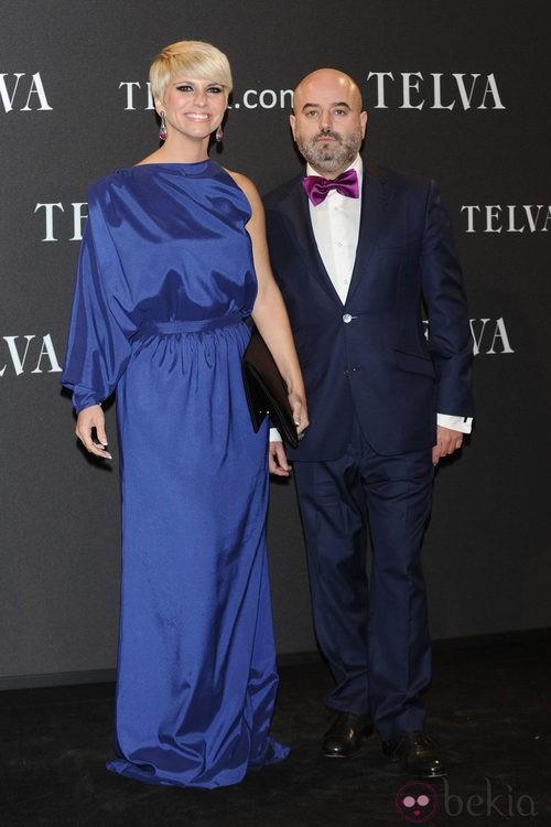 Look de Pasión Vega y Antonio García en los Premios T de Moda de Telva 2011