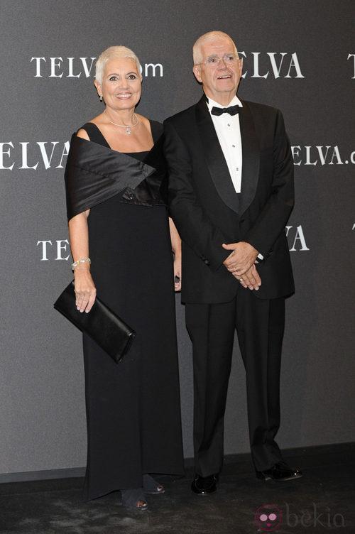 Look del matrimonio Tous en los Premios T de Moda de Telva 2011