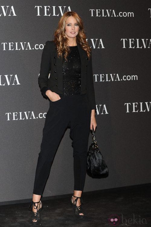 Look de Estefanía Luyck en los Premios T de Moda de Telva 2011
