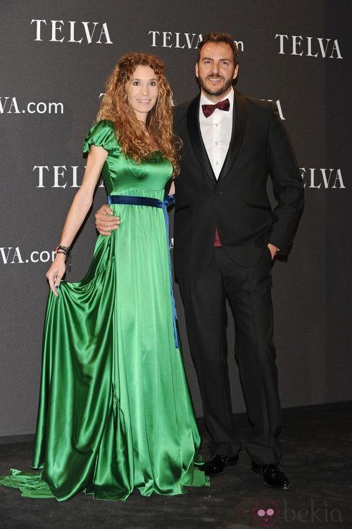 Look de Blanca Cuesta y Borja Thyssen en los Premios T de Moda de Telva 2011
